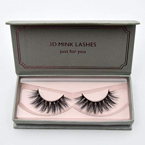 SELLA 1 pair 3D False Eyelashes Full Volume Mink Lashes Lightweight Soft Lashes Eyelash Extension Natural Long Mink Eyelashes,visofree D22