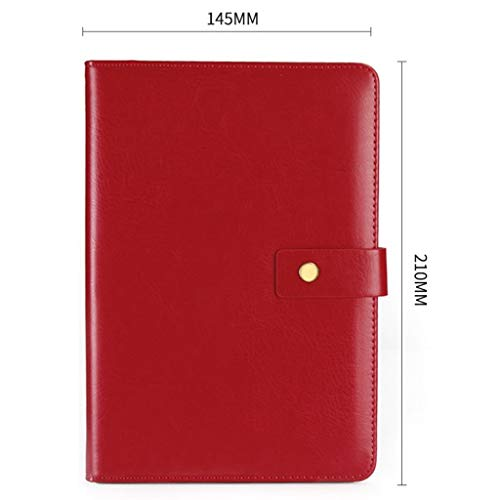 AJZXHE Notizblock Sub-Notebook, Notizblock, A5 Notizbuchbuch-Briefpapier Business-Notebook (3) Memo Bücher (Color : H)
