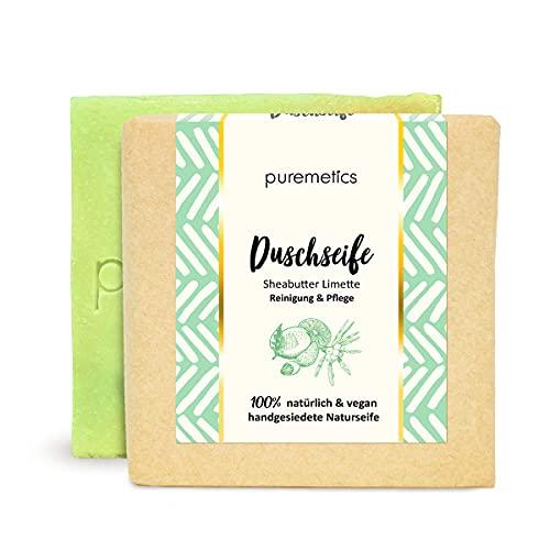 puremetics Zero Waste straffende Dusch-Seife