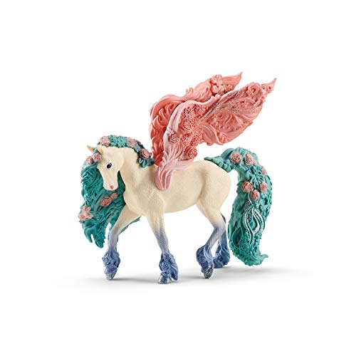 Schleich bayala Flower Pegasus Imaginative Toy for Kids Ages 5-12