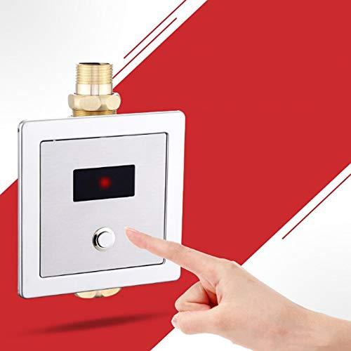 iBalody - Válvula de Descarga electrónica para Inodoro (Montaje en Superficie de inducción, Totalmente automática, Montaje en Superficie infrarroja, Oculta WC, Ahorro de Agua, Sensor inductivo)