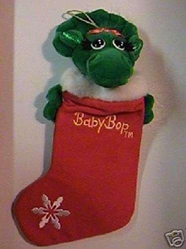 Baby Bop Plush Stocking by Dakin