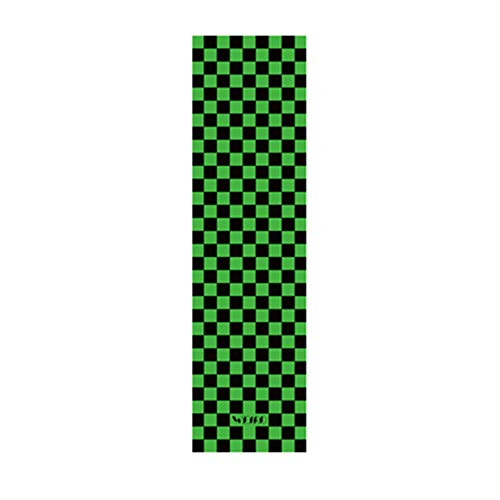 IDE Play Skateboard Grip Tape Blatt 33x9-Zoll-Scooter Grip Tape, Longboard Griptape, Schmirgelpapier für Wellenbrett,Grün