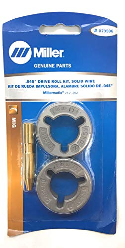 Drive Roll Kit, 2 Roll, V-Grooved, 0.045