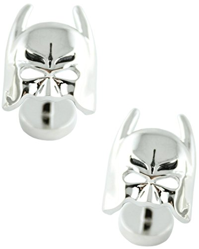 MasGemelos Manschettenknöpfe Batman 3D Mascara Silber Cufflinks