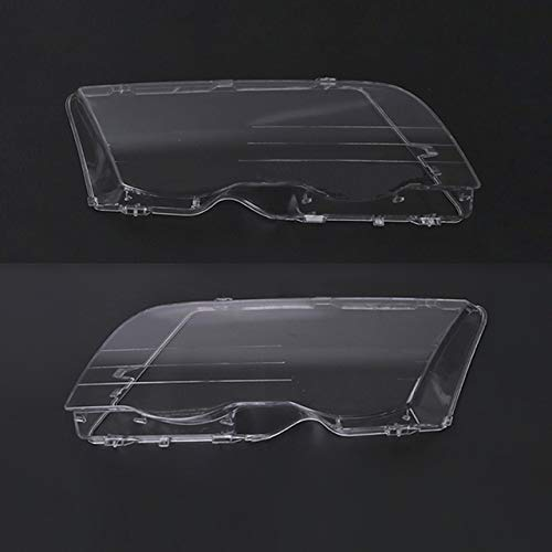 Scheinwerfer Glasabdeckung Auto Klar Scheinwerfer Objektivabdeckung Fit For BMW E46 1998-2001 Auto-Scheinwerfer Glasabdeckung Transparent Links Rechts Scheinwerferlinsenform Lampshade Abdeckung Schein