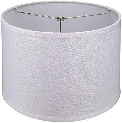 Tootoo Star White Lamp Shade Large Drum Lampshade for Chandeliers Floor Light and Table Lamp product image