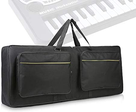 61 key keyboard bag with 10mm Cotton Padded Case Gig Bag thickened waterproof electronic piano product image