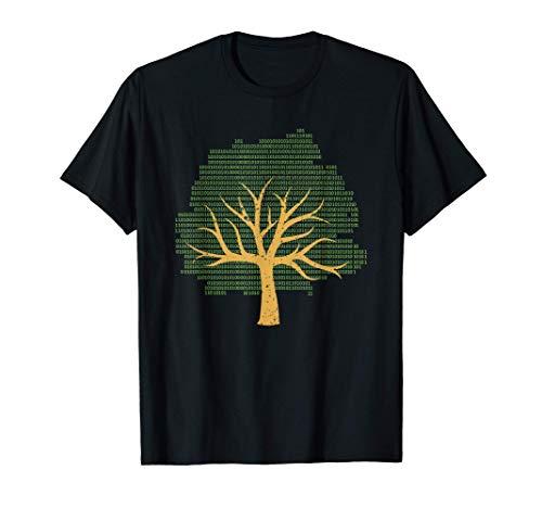Árbol binario Programador divertido Programador Programador Camiseta
