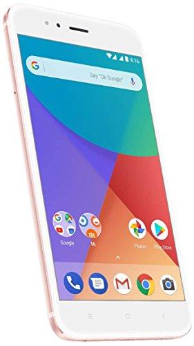 Xiaomi Mi A1 14 cm (5.5″) 4 GB 64 GB SIM Dual 4G Oro Rosado, Blanco 3080 mAh – Smartphone (14 cm (5.5″),…