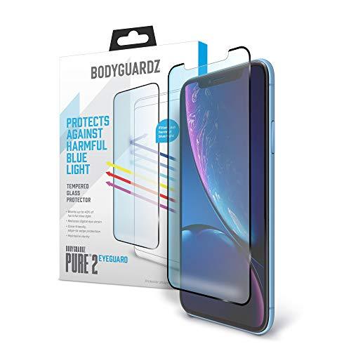 BodyGuardz - Pure 2 EyeGuard Glass Screen Protector Blue Light...