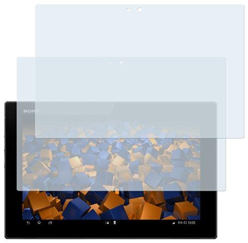 mumbi Schutzfolie kompatibel mit Sony Xperia Tablet Z Folie klar, Bildschirmschutzfolie (2X)