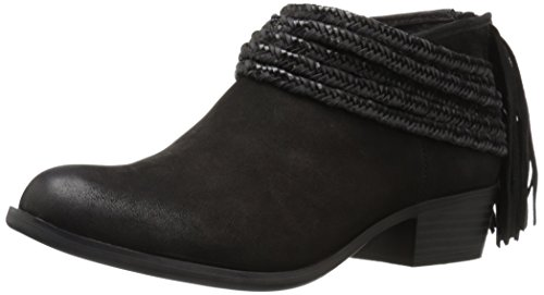 BCBGeneration Women's Bg-craftee Ankle Bootie, Black Soft Goat, 9.5 M US