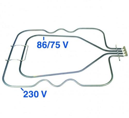 Heizelement(BO)Unterhitze, passend zu Geräten von:Bosch Constructa Küppersbus...
