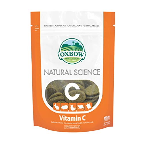 Oxbow Natural Science Vitamin C Supplement 60 tabs 120g by Oxbow