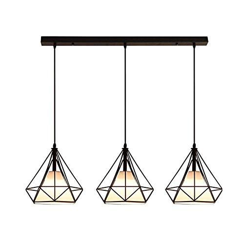Lámpara de araña Monder, accesorio de iluminación de decoración de brazo ajustable para cocinas, escaleras, dormitorios durante la luz, lámparas de techo colgantes de montaje empotrado L