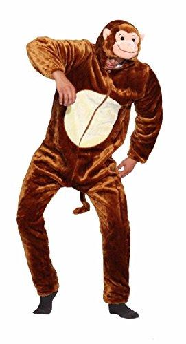 Unisex Erwachsene Kinder Pyjamas Cosplay Nachtwäsche Tier Onesie Kostüme Schlafanzug Tieroutfit tierkostüme Jumpsuit (Kinder 110 Für Hohe 100-110CM, affe)