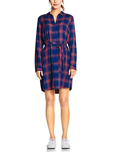 Street One Damen 142533 Kleid, Mehrfarbig (Cobalt Blue 31784), (Herstellergröße:38)