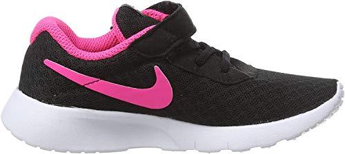 Nike Tanjun (TDV) Scarpa da Ginnastica, Nero (Black/Hyper Pink/White 061), 25 EU