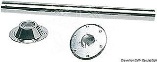 Osculati Piede girevole telescopico inox 540//720 mm