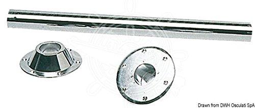 OSCULATI Gambo Tavolo Fisso 700 mm Acciaio Cromato