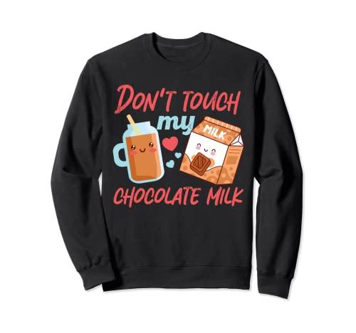 Non toccare il mio latte al cioccolato giapponese Felpa