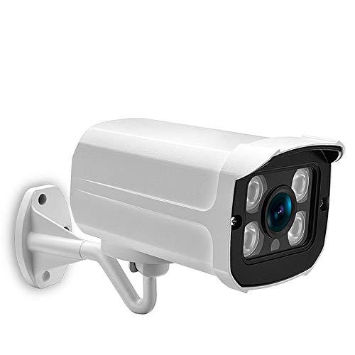Vigilancia Bala 1080P 2MP 3MP 5 megapíxeles al Aire Libre cámara de vigilancia IP del PoE 2,8 mm Gran Angular for la cámara de CCTV Sistema Netwrok cámara (Focus : 6mm, Sensor Size : DC 12V 5MP)