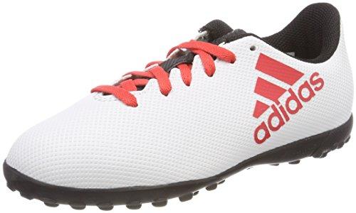 Adidas X Tango 17.4 TF J, Botas de fútbol Unisex Adulto, Gris (Gris/Correa/Negbas 000), 36 2/3 EU