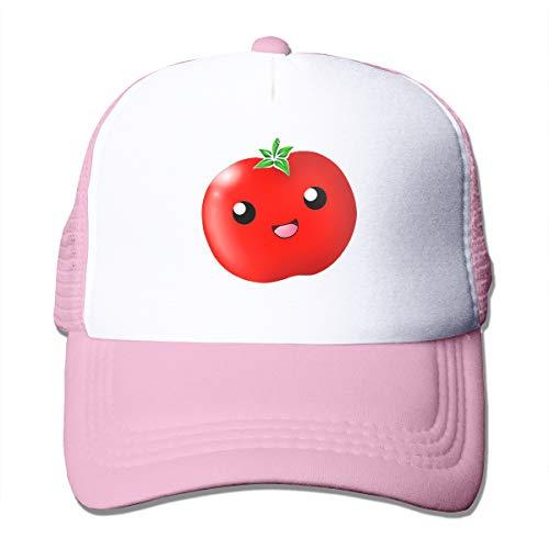 Wfispiy Nette Tomaten Mesh Blue Baseball Caps Adjustable Dad...