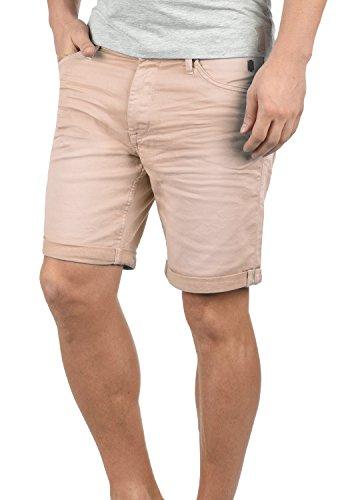 Blend Diego Herren Jeans Shorts Kurze Denim Hose Aus Stretch-Material Slim Fit, Größe:3XL, Farbe:Cameo Rose (73835)