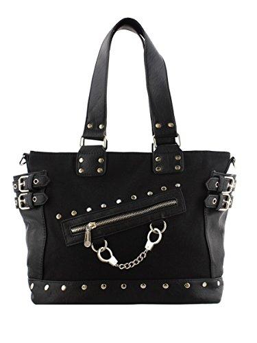Banned Handschelle Handtasche schwarz