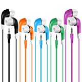Earbuds Bulk for Kids Students School Classroom 30 Pack, SP Soundpretty Wholesale Disposable Earphones Headphones for Computers Chromebook iPad PC Android Phone, Fits All 3.5mm Interface