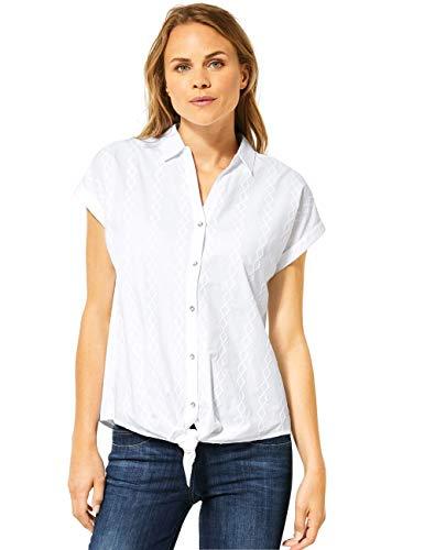 Cecil Damen 341934 Bluse, White, X-Small