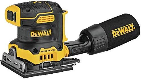 DEWALT 20V MAX XR Palm Sander Sheet Variable Speed 1 4 Inch Tool Only DCW200B product image