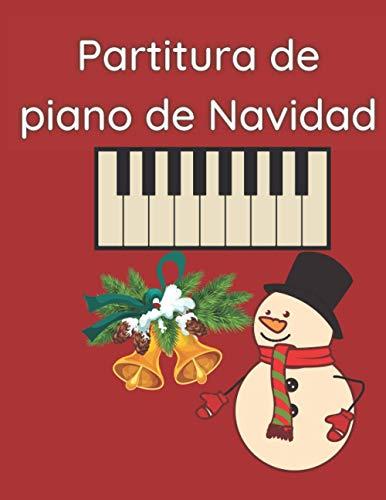 Partitura de piano de Navidad