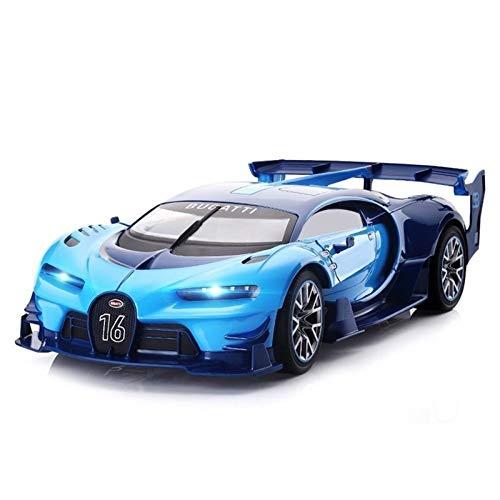 Poooc 1/12 de la escala grande Bugatti RC Car 39.5cm Sport Vitesse de radio control remoto juguete educativo modelo de vehículo Coches de juguete 4WD Rock Crawlers 4x4 de conducción de vehículos todo