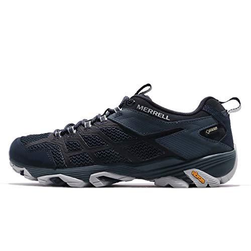 Merrell Herren Moab FST 2 GTX Walking Shoe, Navy/Slate, 42 EU