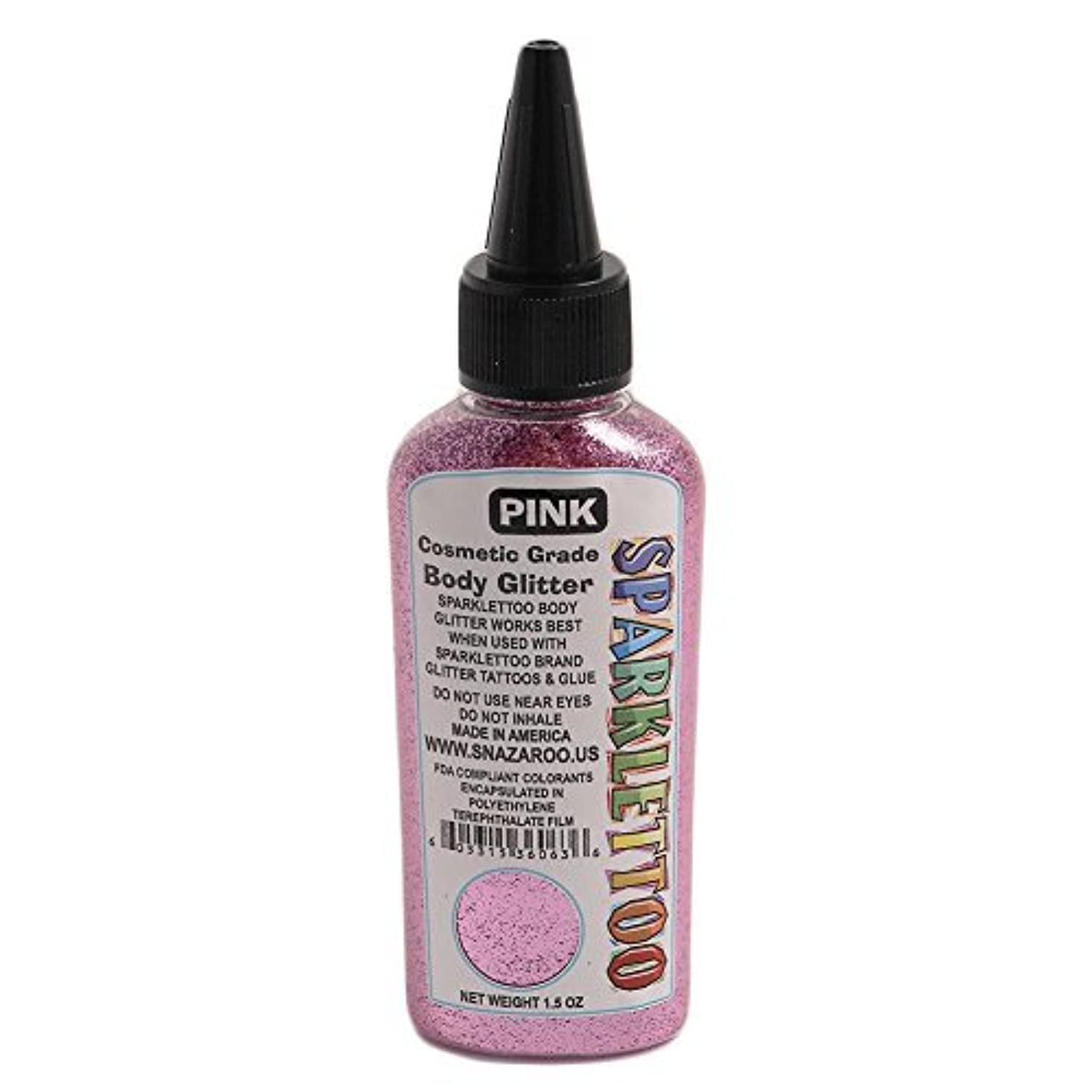 Ruby Red Paint Face Paint - Glitter Pink 1.5 Oz