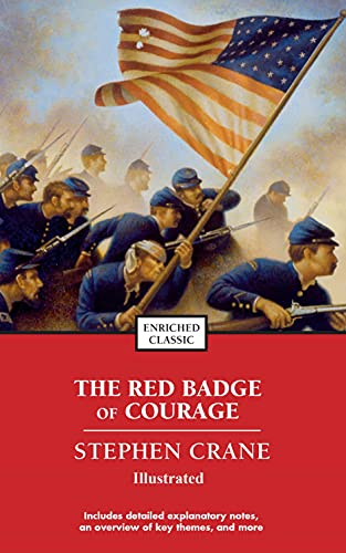 The Red Badge of Courage Illustrated (English Edition)