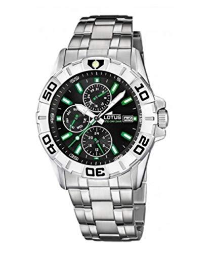 LOTUS Reloj Hombre Acero Inoxidable MULTIFUNCION 15812/6