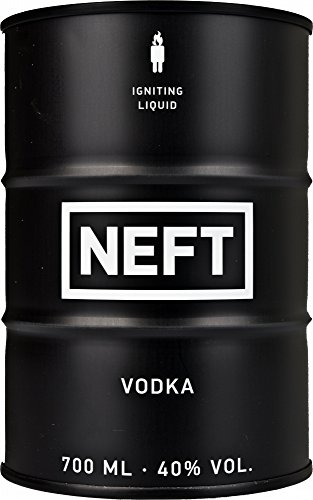 Neft Vodka Black Barrel, 700 ml