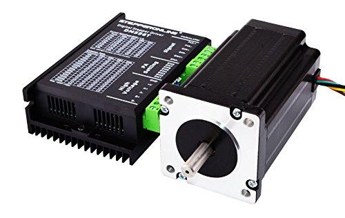 STEPPERONLINE 1 Achse Schrittmotor CNC Kit 4.0Nm(566oz.in) Nema 24 Schrittmotor & Schrittmotor Treiber für 3D DRUCKER/CNC-Fräse