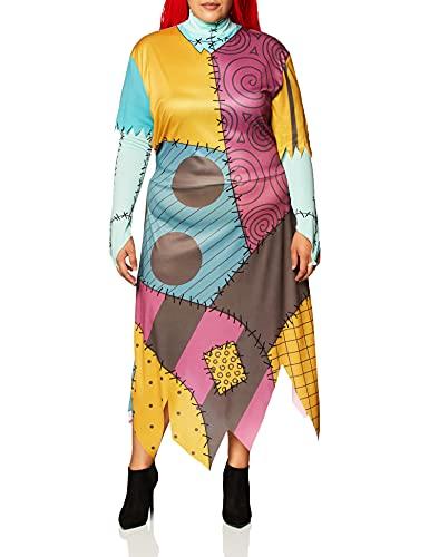 Disguise Women's Tim Burton's The Nightmare Before Christmas Sally Classic Costume, Mulit, 7-9