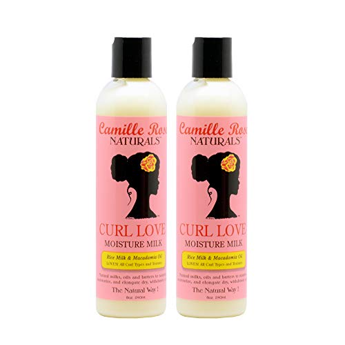 Price comparison product image Camille Rose Naturals Curl Love Moisture Milk,  (2 Pack of 8 Ounce)