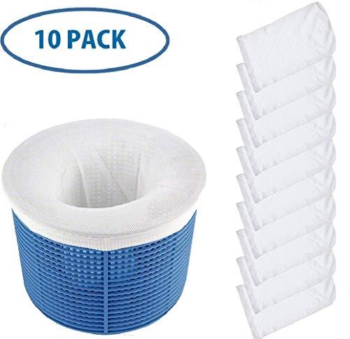 CICADAS Schwimmbad Skimmer Socken,Pool Skimmer Socken, Dauerhafte &UniversalPool Skimmer Netz,SchutzFilter (10pcs)