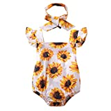 Camidy Baby Girls' One-Piece Rompers