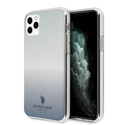 US Polo USHCN65TRDGLB - Funda para iPhone 11 Pro MAX, diseño Degradado, Color Azul
