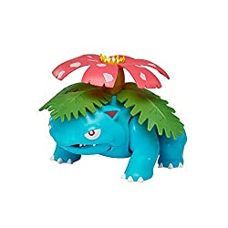 Your Pokémon team is about to get even bigger! 12-inch, large scale Epic Figure Venusaur has multiple points of articulation for dynamic motion and features realistic detail. The large flower on Venusaur's back is said to take on vivid colours if it ...