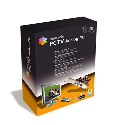 Pinnacle Systems PCTV ANALOG PCI 50I TV Karte intern