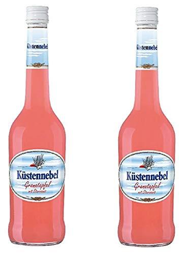 2 Flaschen Küstennebel Granatapfel mit Sternanis a 500ml 17.8% Vol.